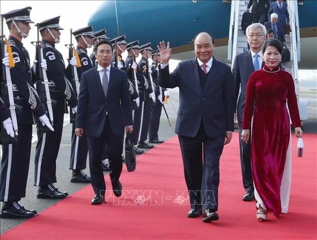 越南政府总理阮春福出席东盟-韩国对话关系30周年纪念峰会 hinh anh 1