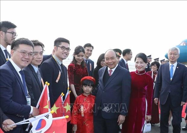 越南政府总理阮春福出席东盟-韩国对话关系30周年纪念峰会 hinh anh 2