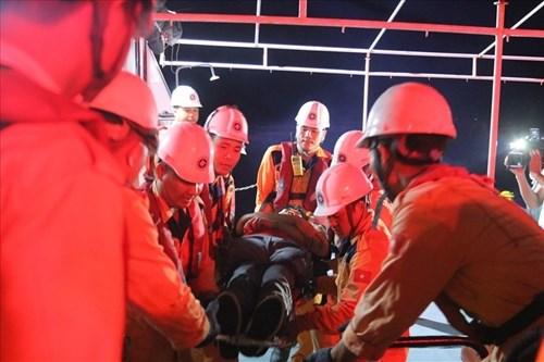 及时营救海上遇险的一名泰国籍船员 hinh anh 1