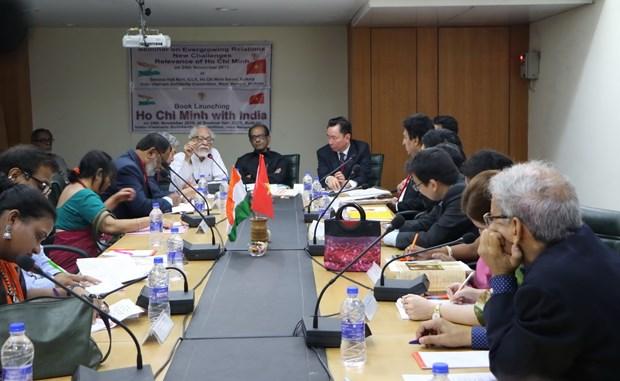 关于越南印度关系与胡志明主席烙印的研讨会在印度举行 hinh anh 1