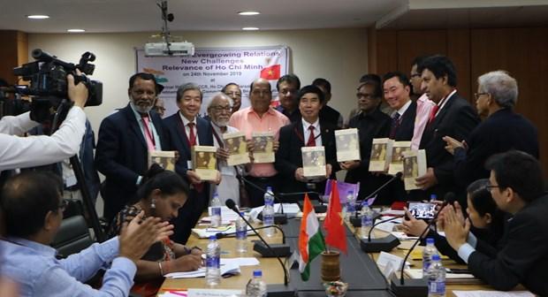 关于越南印度关系与胡志明主席烙印的研讨会在印度举行 hinh anh 2