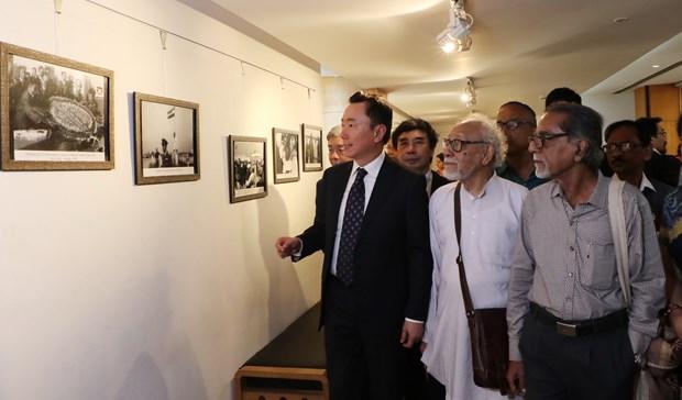 关于越南印度关系与胡志明主席烙印的研讨会在印度举行 hinh anh 3