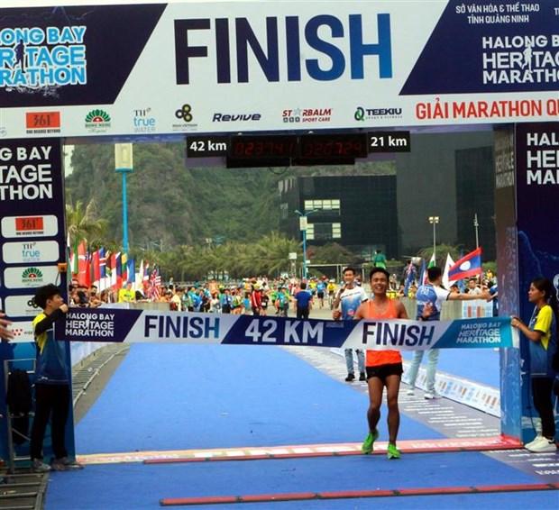 2019年下龙湾国际遗产马拉松大赛吸引3000余名选手参加 hinh anh 2