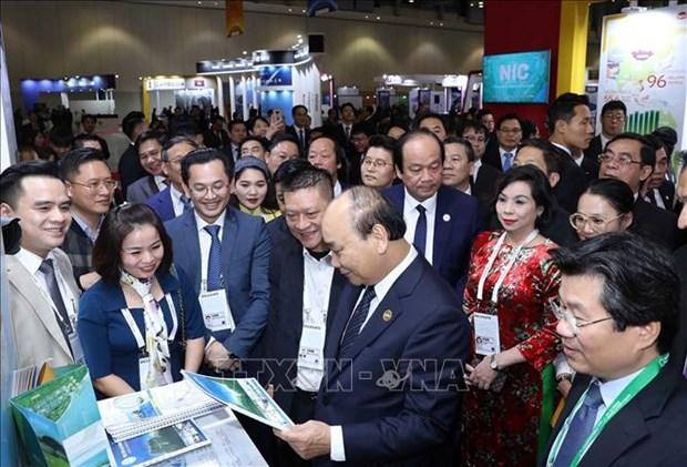 阮春福总理在东盟—韩国商界CEO峰会上发言 hinh anh 2