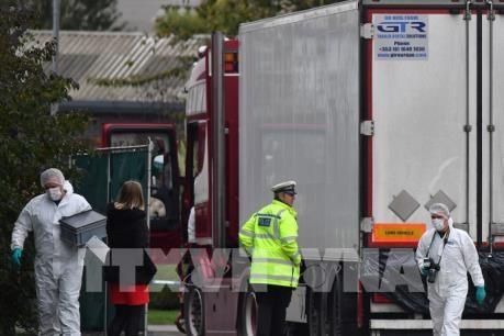 英国货车39人死亡案:越南与英国努力完成将货车受害者尸体运送回国的程序 hinh anh 2