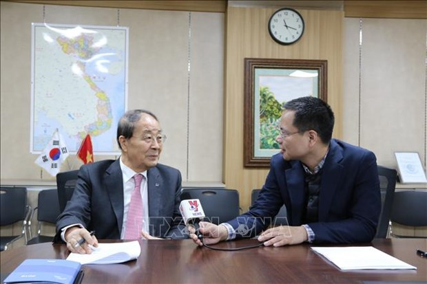 韩越友好协会主席高度评价民间外交与文化交流的作用 hinh anh 2