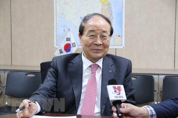 韩越友好协会主席高度评价民间外交与文化交流的作用 hinh anh 1