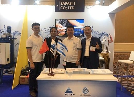 越南企业参加2019年第8届以色列国际水技术与环保展 hinh anh 2
