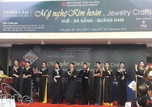 彰显越南传统珠宝制作造诣的展会在岘港市举行 hinh anh 1