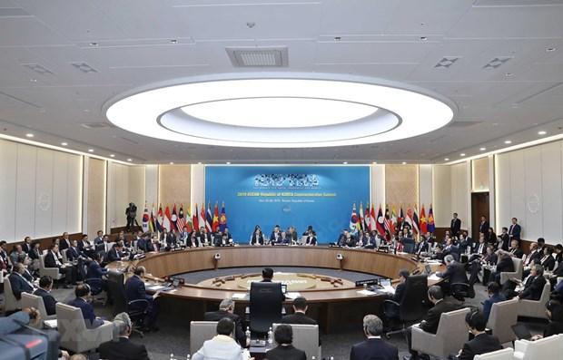 阮春福出席东盟与韩国建立伙伴关系30周年纪念峰会第二阶段会议 hinh anh 1