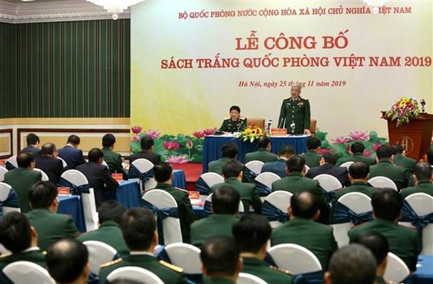 越南公布2019年国防白皮书 hinh anh 1