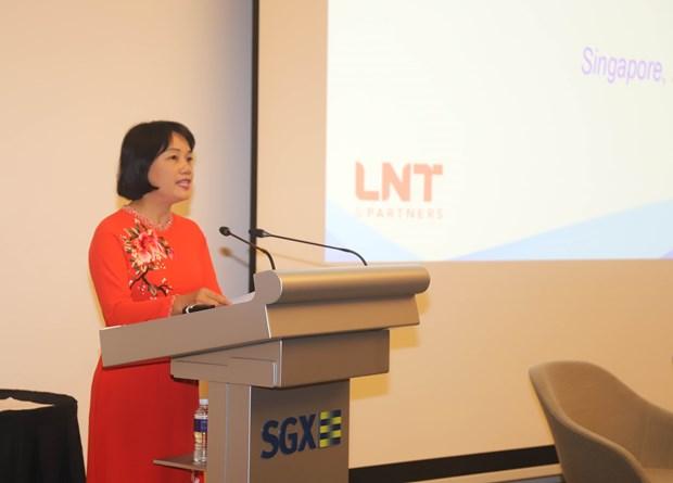 越南和新加坡企业加强沟通对接 hinh anh 1