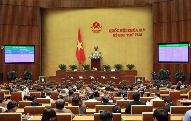 越南第十四届国会第八次会议公报(第二十七号) hinh anh 1