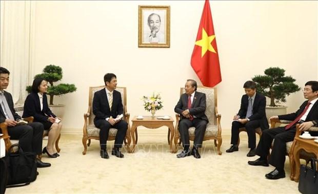 越南政府副总理张和平建议日本茨城县接纳更多越南劳务人员和实习生 hinh anh 1