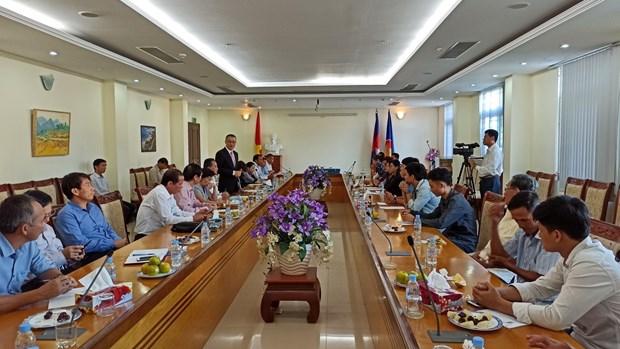 越裔柬埔寨人社群人力资源发展基金会正式亮相 hinh anh 1