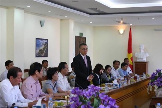 越裔柬埔寨人社群人力资源发展基金会正式亮相 hinh anh 2