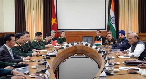 越南与印度签署有关国防技术研究的合作协议 hinh anh 1