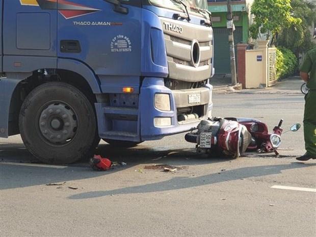 2019年11月越南交通事故死亡人数达657人 hinh anh 1