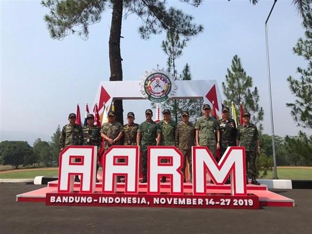 越南代表团在AARM 29比赛中排名第三 hinh anh 1