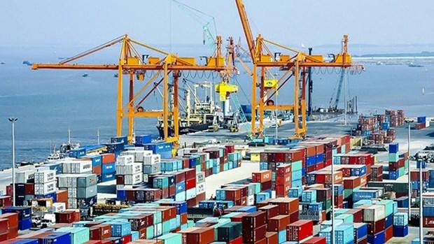 越南港口货物吞吐量继续猛增 hinh anh 1