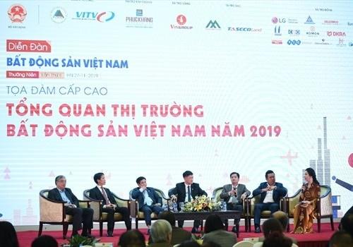 2019年越南房地产论坛在河内举行 hinh anh 2
