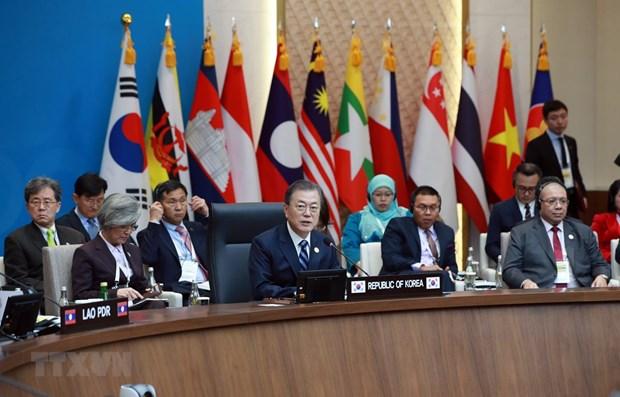 东盟与韩国携手促进地区共同繁荣发展 hinh anh 1