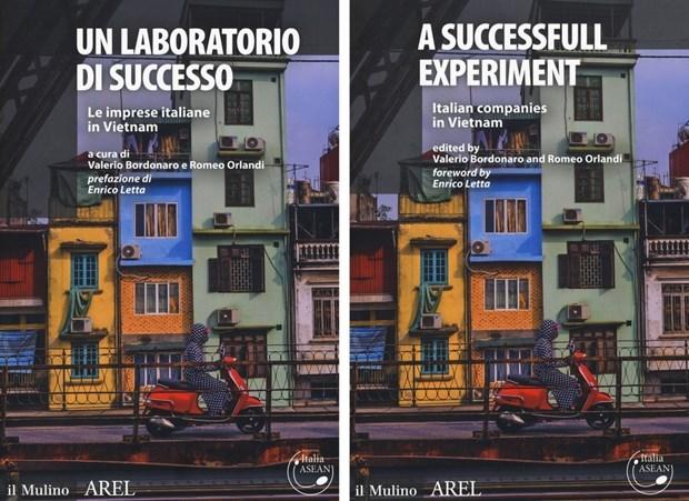 关于在越南意大利企业成功案例的新书正式亮相 hinh anh 1
