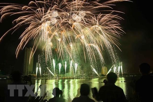 河内市将在所有郡县燃放烟花 喜迎2020庚子年春节 hinh anh 1