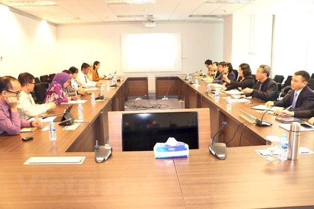 越南与印尼加强在金融监督领域的合作 hinh anh 1