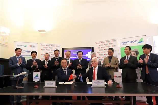 越竹航空公司促进河内-墨尔本直达航线的开通 hinh anh 1