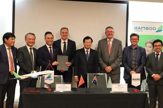 越竹航空公司促进河内-墨尔本直达航线的开通 hinh anh 2