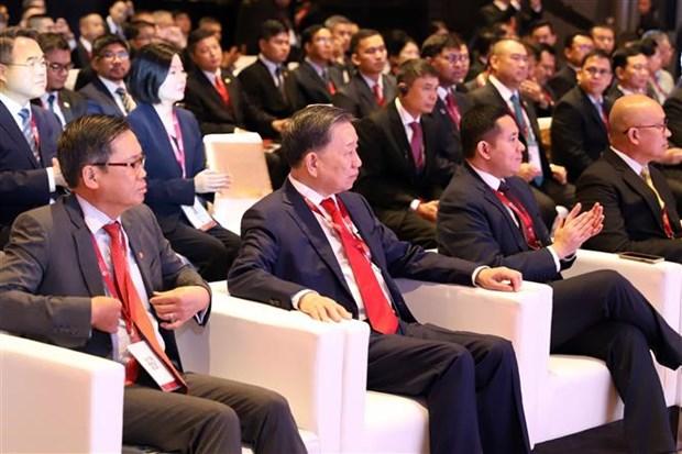 东盟打击跨国犯罪部长级会议开幕 hinh anh 2