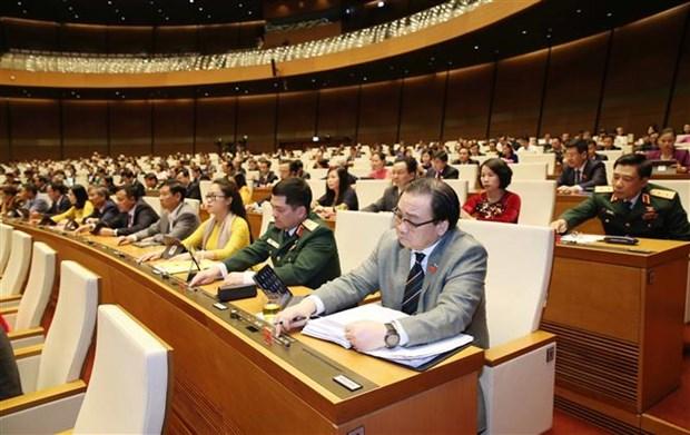 第十四届国会第八次会议通过关于司法工作的决议 hinh anh 1