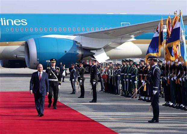 越南政府总理阮春福开始对韩国进行正式访问 hinh anh 3