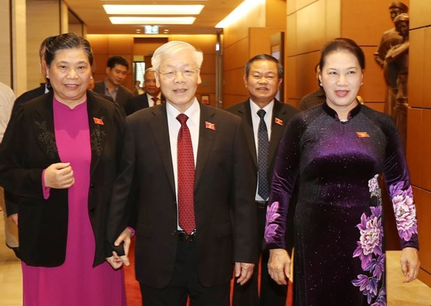 越南第十四届国会第八次会议圆满闭幕 hinh anh 1