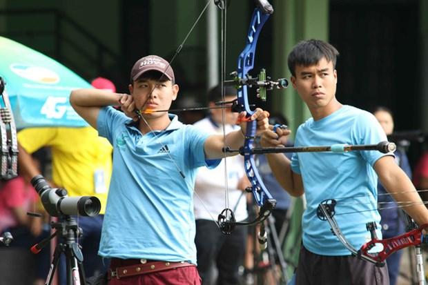 越南运动员阮文待夺得2019年亚洲射箭锦标赛银牌 hinh anh 1