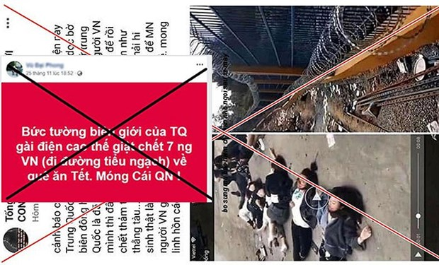 广宁省信息传媒厅:7名越南公民在越中边境地区死亡的消息不实 hinh anh 1