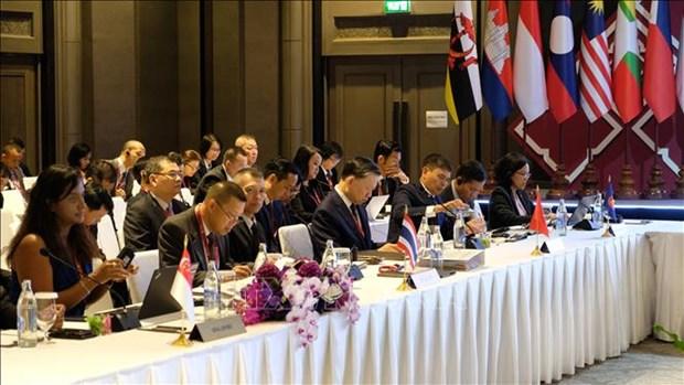 东盟各国与中日韩加强打击跨国犯罪合作 hinh anh 1