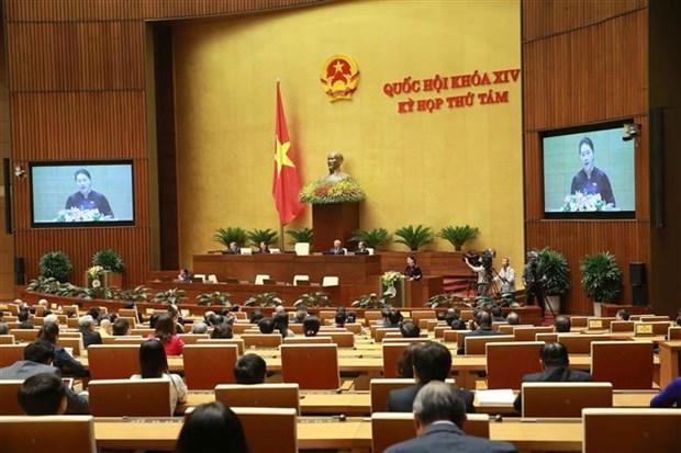 越南第十四届国会第八次会议:专题询问方式继续得到积极的改善 hinh anh 2