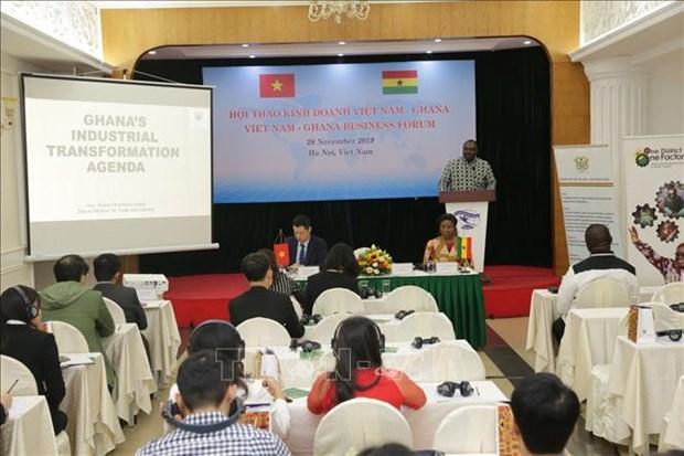促进越南与加纳的贸易合作关系 hinh anh 1