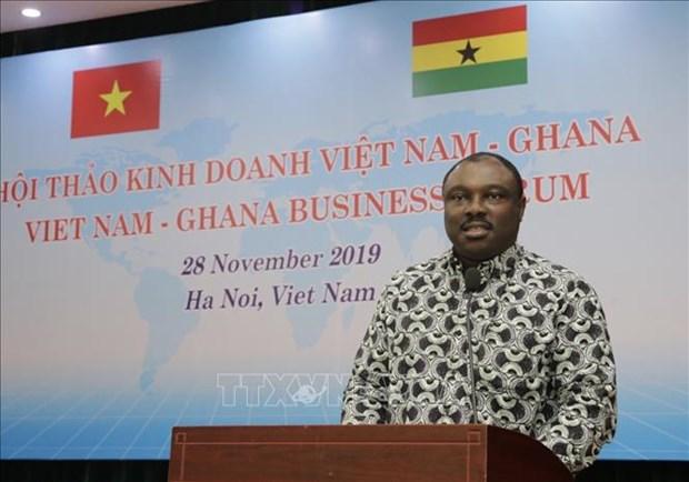 促进越南与加纳的贸易合作关系 hinh anh 2