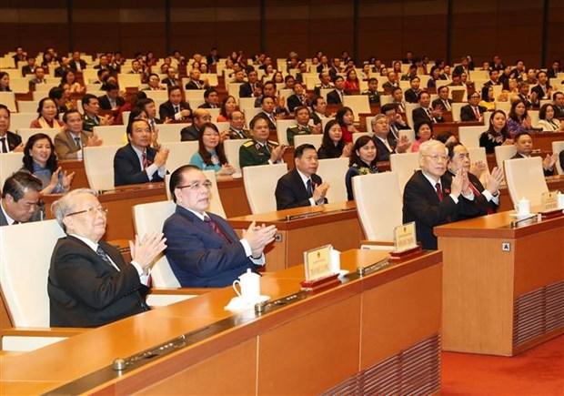 越南第十四届国会第八次会议:专题询问方式继续得到积极的改善 hinh anh 1