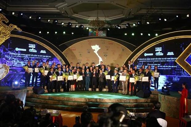 越南20家最佳可持续发展企业获表彰 hinh anh 1