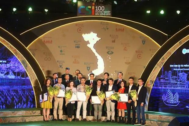 越南20家最佳可持续发展企业获表彰 hinh anh 2