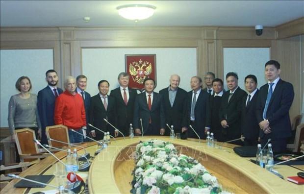 加强与俄罗斯共产党的传统友好关系 hinh anh 1