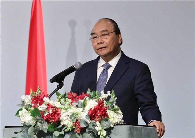 越南政府总理阮春福出席越南-韩国商务论坛 hinh anh 2