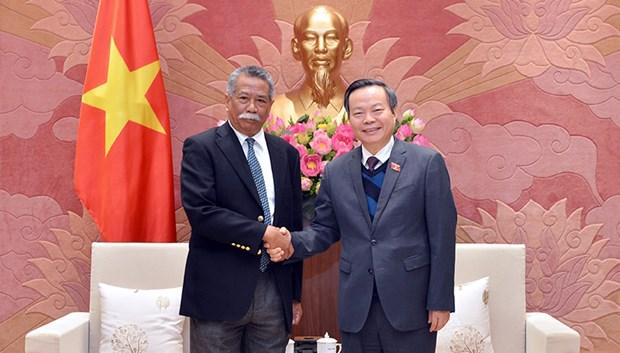 国会副主席冯国显会见亚洲生产力组织秘书长 hinh anh 1