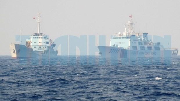 各国要继续反对中国在东海的非法行为 hinh anh 1