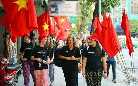 11月越南接待国际游客总量刷新纪录 hinh anh 2