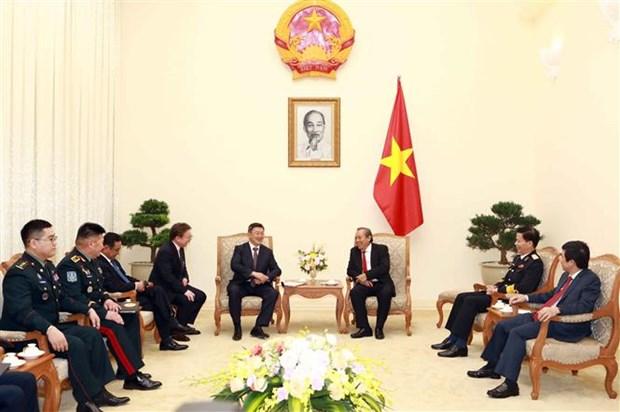 政府副总理张和平:越南一向将蒙古国视为重要伙伴 hinh anh 1